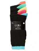 Lyric Weekdays Crew Sock, 5-Pack