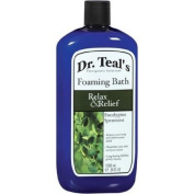 Dr. Teal's Relax & Relief Foaming Bath, 1010ml