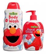 Sesame Street Elmo Body Wash (12 FL.OZ. / 355 ml) PLUS Hand Soap
