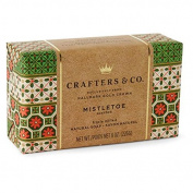 Crafters & Co By Hallmark Gold Crown Mistletoe Scented Luxury Triple Milled Natural Soap