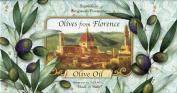 Saponificio Artigianale Fiorentino Olives From Florence Olive Oil Bath Soap, 3 X 130ml