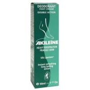 AKILEINE Deodorant Foot Cream Double Action 50ml
