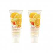 3w Clinic Moisturising Lemon Hand Cream 100ml 2pcs, All Skin Type