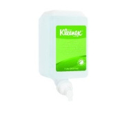 Kimberly Clark 91565 Foam Skin Cleanser, Fragrance and Dye-Free Hand Soap, Clear, Green Certified, 1.0L Cassette