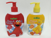 Sesame Street Bundle of 2 Different Hand Soaps