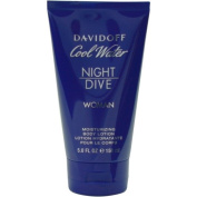 COOL WATER NIGHT DIVE by Davidoff BODY LOTION 150ml for WOMEN ---