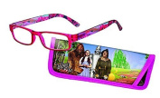 Eye Style Reading Glasses with Matching Eyeglass Case (+ 3.0 WIZARD OF OZ) by Spoontiques
