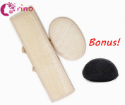 Orino™ Exfoliating Loofah Back Scrubber Loofah Pad for Shower & Bath Spa for Men and Women.BONUS