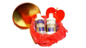 Everyone 3-in-1 Soap & Lotion Valentine Gift Set, Lavender Plus Aloe, 240ml Each