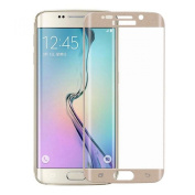 ABCsell 0.4mm Full Coverage Tempered Glass Film Protector for Samsung Galaxy S6 Edge