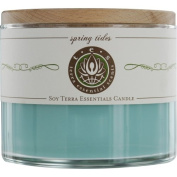 SPRING TIDES by SOY ESSENTIAL BLEND CANDLE 350ml BURNS APPROX. 30+ HOURS for UNISEX ---
