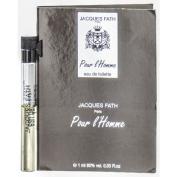JACQUES FATH POUR L'HOMME by Jacques Fath EDT VIAL for MEN ---