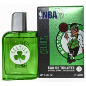 NBA CELTICS by Air Val International GREEN EDT SPRAY 100ml for MEN ---