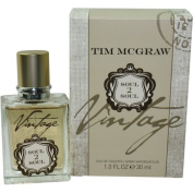 MCGRAW SOUL 2 SOUL VINTAGE by Tim McGraw EDT SPRAY 30ml for MEN ---