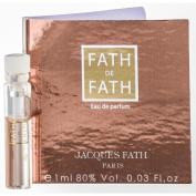 FATH DE FATH by Jacques Fath EAU DE PARFUM VIAL ON CARD for WOMEN ---