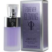FOREVER GLOWING BY JLO by Jennifer Lopez EAU DE PARFUM SPRAY 50ml for WOMEN ---