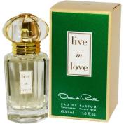 OSCAR DE LA RENTA LIVE IN LOVE by Oscar de la Renta EAU DE PARFUM SPRAY 30ml for WOMEN ---