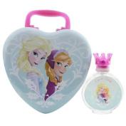 FROZEN DISNEY by Disney EDT SPRAY 100ml & RING & METAL CASE for WOMEN ---