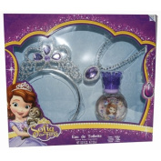 SOFIA THE FIRST by EDT SPRAY 30ml & NECKLACE & CROWN for WOMEN ---