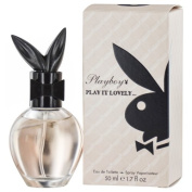 PLAYBOY PLAY IT LOVELY by Playboy EDT SPRAY 50ml for WOMEN ---