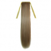 Abwin Abwin Bundled Mixed Colour Straight Ponytail / Honey Blonde and Pale Blonde