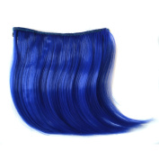 Abwin Coloured Clip in Bangs / Blue