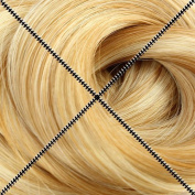 Doctored Locks Straight Remy (Remi) Tape-In Human Hair Extensions - 46cm - Caramel/Platinum 27/613