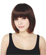 Nouqi® Womens Fahion Bob Short Straight Costumes Hair Party Wigs