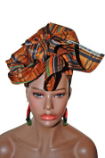 Brown Goddess African Headwrap