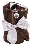 Wrapadoo 2-in-1 Hair Towel, Chocolate Brown