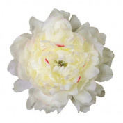 Jumbo Peony Artificial Flower Hair Clip/Pin Brooch