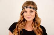 """Jackie """"Authentic"""" Headband by Pink Pewter"""