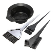 Hair Colour Dye Tint Mixing Bowl and Brush Set
