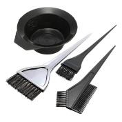 Hair Colour Dye Tint Mixing Bowl and Brush Set