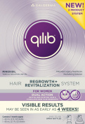 qilib Regrowth Plus Revitalization Hair System for Women, 4.7 Fluid Ounce
