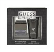 GUESS SEDUCTIVE Homme 30ml EDT Spray Men's Cologne + 200ml gel Set