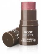 HAN Skin Care Cosmetics Natural Cheek and Lip Tint, Rose Berry
