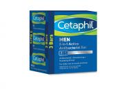 Cetaphil Men 3-in-1 Active Antibacterial Bars, 400ml