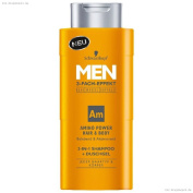 Schwarzkopf MEN Amino Power Hair & Body 2-in-1 Shampoo + Shower Gel 250 ml / 8.3.fl oz