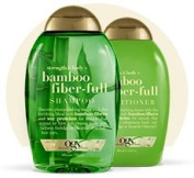 Ogx ~ Bamboo Fibre-Full Shampoo and Conditioner Set, 380ml each~