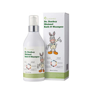 Cleomee Dr.donkey Minimal Bath & Shampoo 300ml, All Skin Type,hair & Body Moisturising,donkey Milk+natural EGF Contain