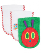 Hungry Caterpillar Wash Mitts, 3-Pack