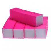 DDLBiz 5Pcs Nail Art Buffer File Block Pedicure Manicure Buffing Sanding Polish