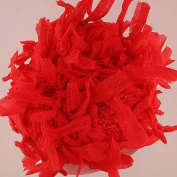 Trendsetter Papi #23 - Red - Paper Ribbon Flag Yarn 25 Gramme
