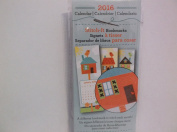 Stitch It 2016 Calendar Bookmarks *Birdhouses*