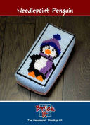 Brick It Needlepoint Door Stop Kit, Penguin