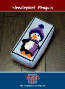 Brick It Needlepoint Door Stop Kit, Penguin