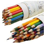 Suppersupplier 12 Colour Fine Harmless Pencils Set For Artist Sketching Drawing