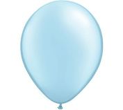 28cm Pearl Blue Latex Balloon - Set of 6