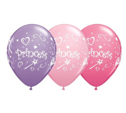 28cm Princess Latex Balloons - Set of 6